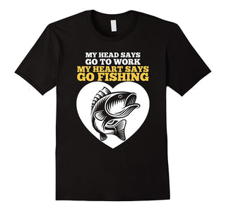 Funny Fishing T-Shirt Fisherman Quotes