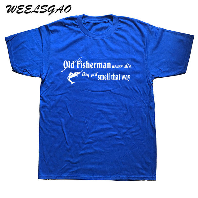 New Fashion old fisherman never die