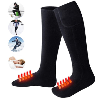 relefree Outdoor skiing Battery Heated Socks