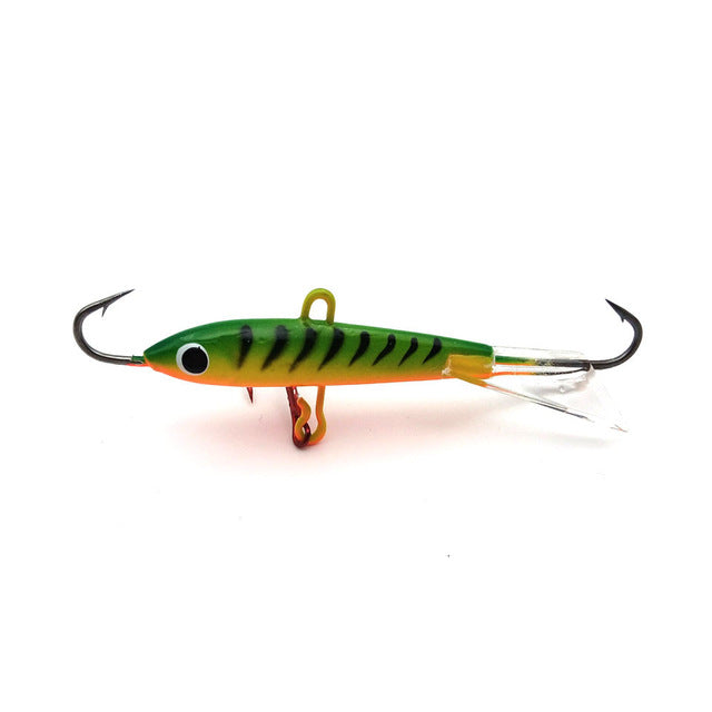 1PCS Winter Ice Fishing Lure Jigging Lead Fish Bait