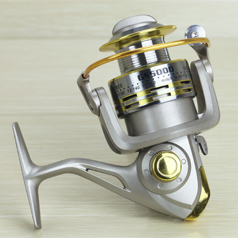 Speed Ratio Baitcasting Fishing Reel
