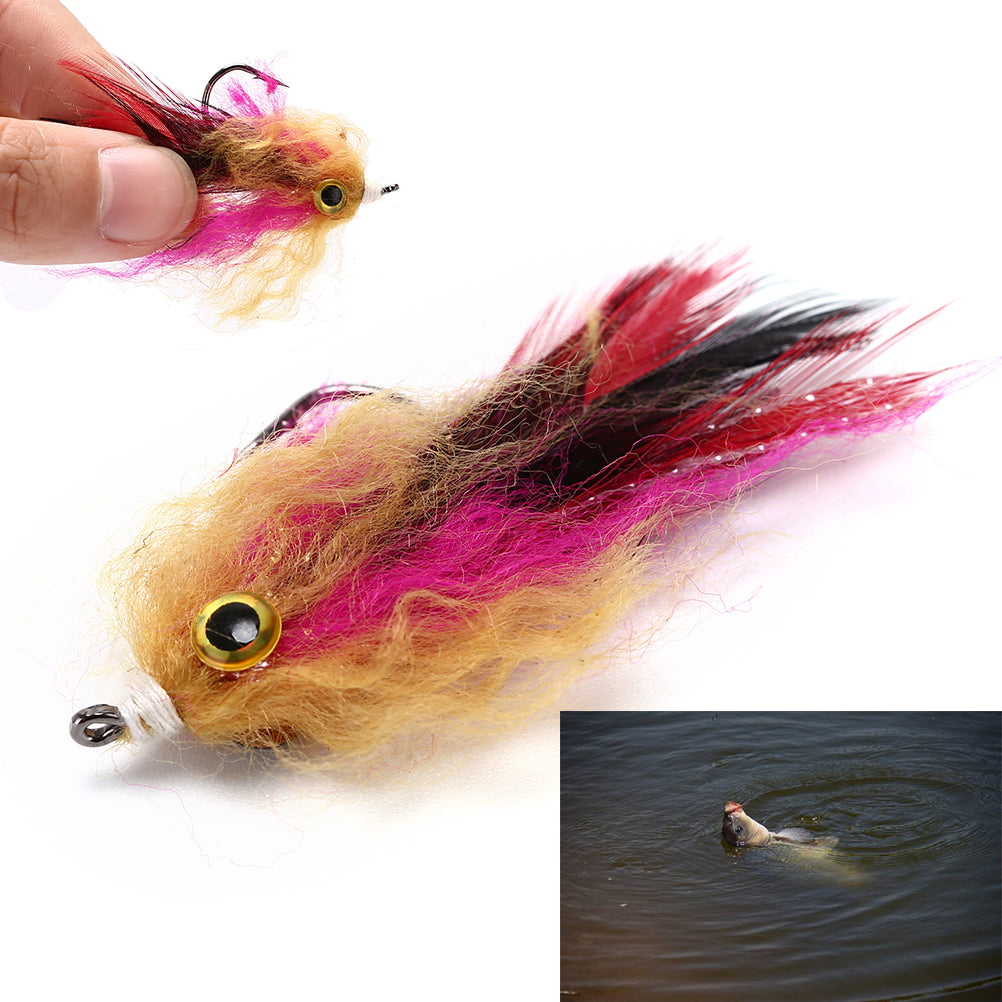 1PCS 6g 5cm Trout Steelhead Salmon Pike Streamer Fly
