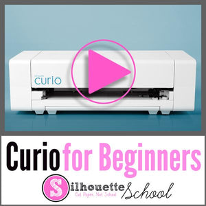 Silhouette Curio Getting Started Video