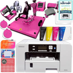 Sublimation Sawgrass SG500 with Heat Press and Mini Guide