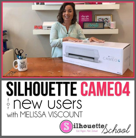 Silhouette CAMEO 4 set up video help