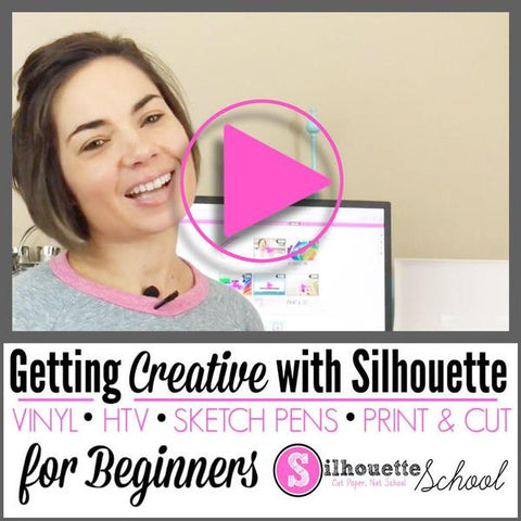 Silhouette CAMEO Pro beginner