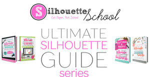 Silhouette Guide books for beginners to learn Silhouette CAMEO