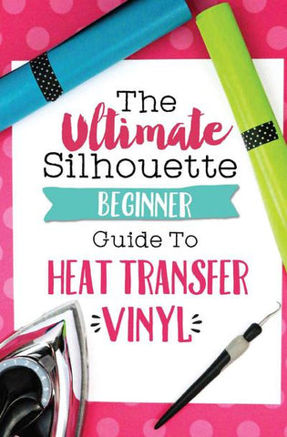 Silhouette heat transfer vinyl tutorials