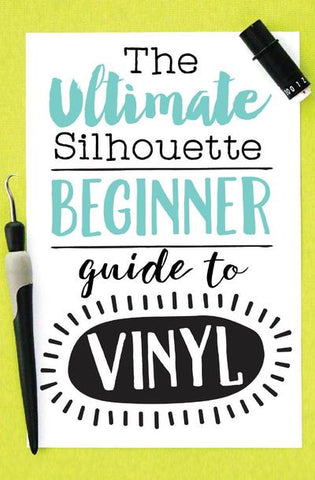 Silhouette vinyl tutorials for beginners