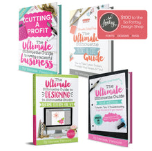 Load image into Gallery viewer, The Complete Ultimate Silhouette Guide eBook Series