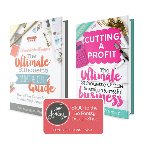 Ultimate Silhouette Print and Cut Seller eBook Bundle