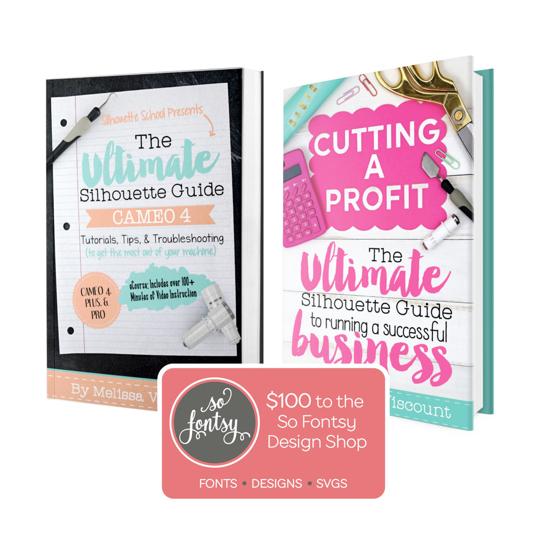 Silhouette School CAMEO 4 business guide book
