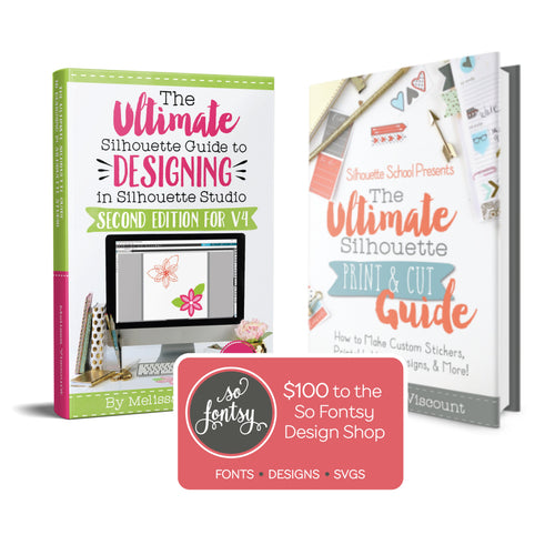 How to design in Silhouette Studio for silhouette print and cut