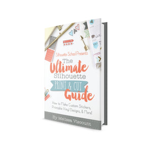 Silhouette CAMEO 4 print and cut book
