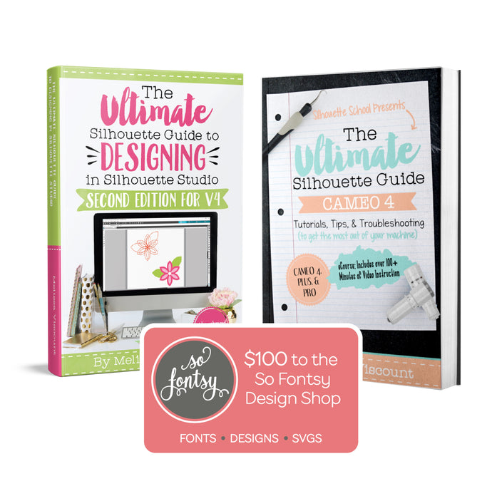 Silhouette CAMEO 4 Software book