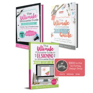 The Ultimate Silhouette Print and Cut Design eBook Bundle
