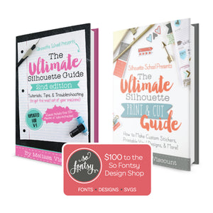 Ultimate Silhouette Print and Cut eBook Bundle