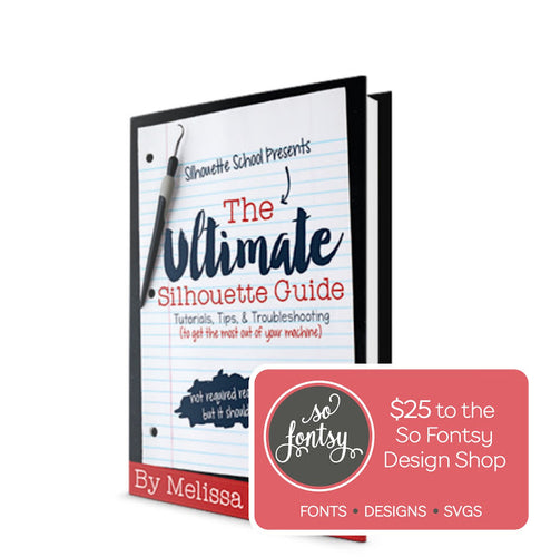 The Ultimate Silhouette Guide eBook (Original for V3 Software)