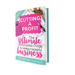 Silhouette Schoo Business Book Cutting a Profit