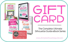 Load image into Gallery viewer, Gift Cards for Ultimate Silhouette Guide