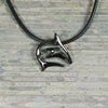 "PRE-ORDER Hematite ""Frenzy"" Reef Shark Pendant, jewelry, Big Blue, [Big_Blue_By_Roland_St_John]"