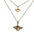 Ocean Breeze Collection Manta Rays Bronze Boho Layered Sea Life Necklaces