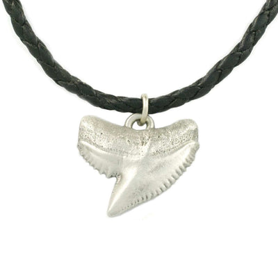"NEW Realistic Shark tooth ""Emma"" in Solid pewter, jewelry, Big Blue, [Big_Blue_By_Roland_St_John]"
