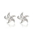 """Starry"" Starfish Post Earrings"