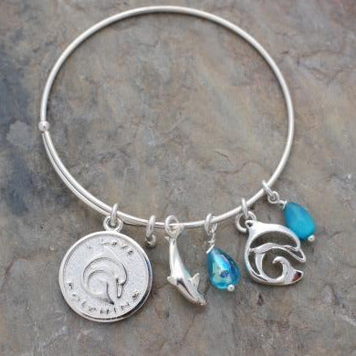 I Love Dolphins Bracelet, jewelry, Big Blue, [Big_Blue_By_Roland_St_John]