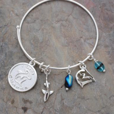 I Love Sharks Bracelet, Jewelry, Big Blue, [Big_Blue_By_Roland_St_John]