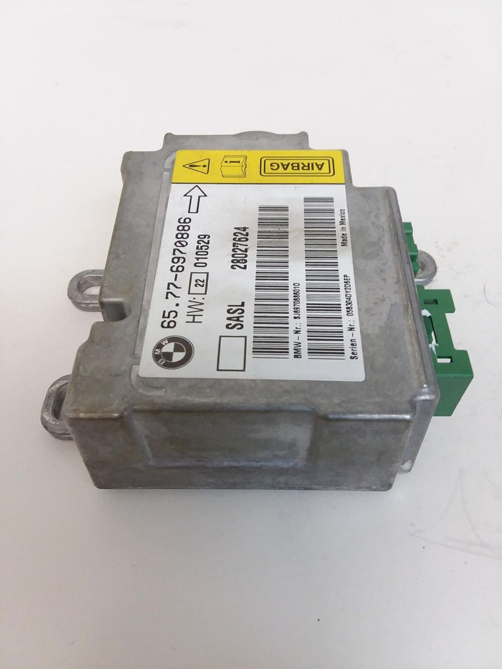 02-08 E65 E66 BMW 745 750 760 7 Series Left A Pilar Module OEM 65776970886