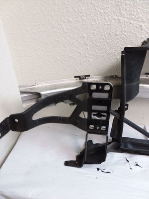 04-10 BMW E60 550I 530I 535I RADIATOR SUPPORT FRAME IMPACT REINFORCEMENT REBAR - Click Receive Auto Parts