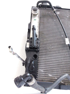2006-2010 BMW E60  550i RADIATOR / AC CONDENSER / POWER STEERING OIL COOLER OEM