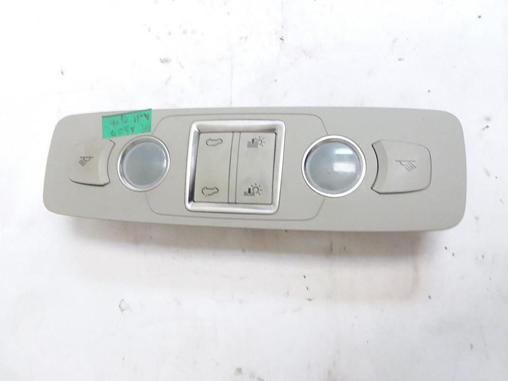 07-09 AUDI Q7 INTERIOR ROOF DOME MAP READING LIGHT LAMP REAR W/ SUNROOF GRAY OEM - Click Receive Auto Parts