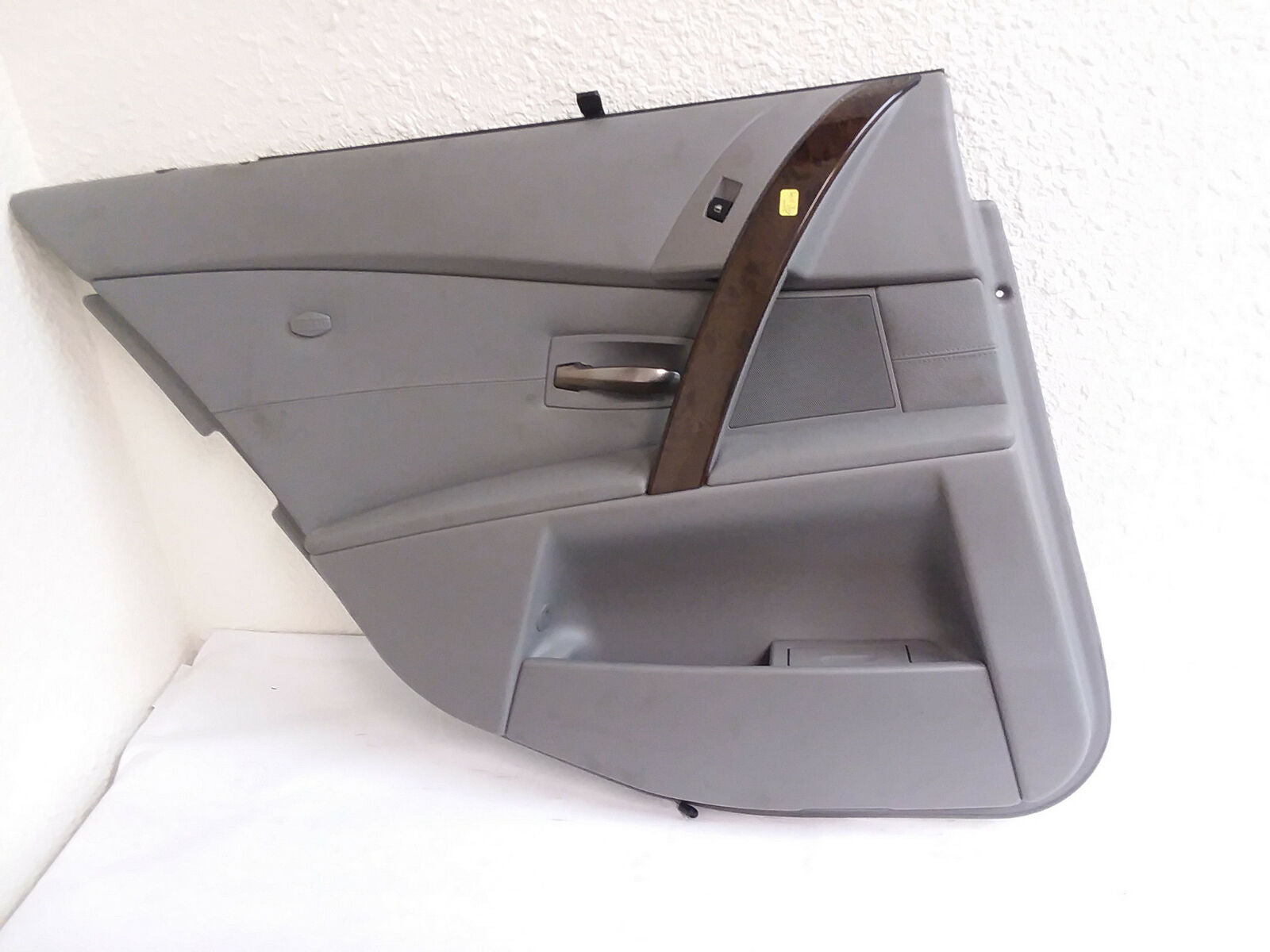 2004-2007 BMW 550i 545 530 525 Rear Door Panel Left (Driver)  Gray OEM - Click Receive Auto Parts