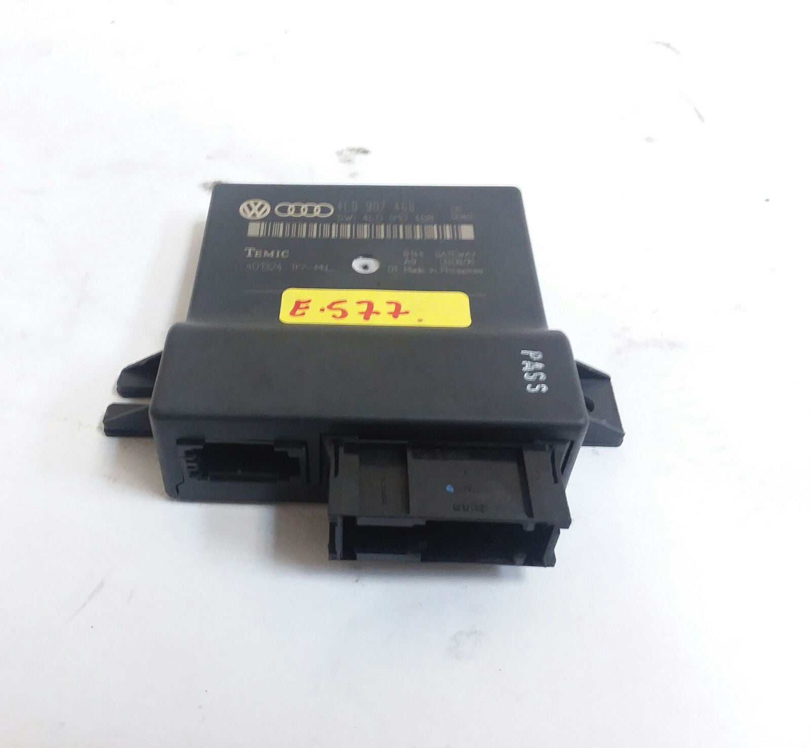 07-09 Audi Q7 4L Gateway Control Module Unit 4L0907468 OEM - Click Receive Auto Parts