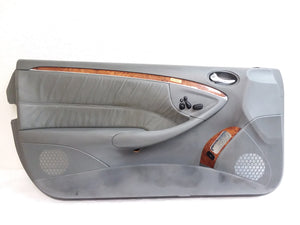 03-05 Mercedes W209 CLK500 CLK320 Left Driver Side Interior Door Panel GRAY OEM - Click Receive Auto Parts