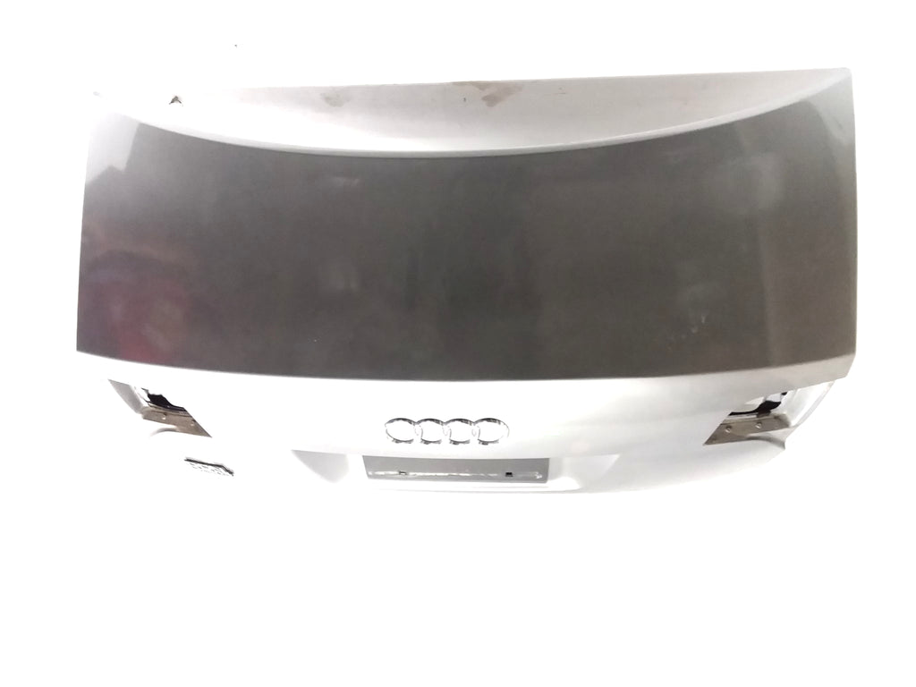 2005 2006 2007 2008 AUDI A4 TRUNK LID COVER W/O SPOILER QUARTZ GREY METALLIC OEM