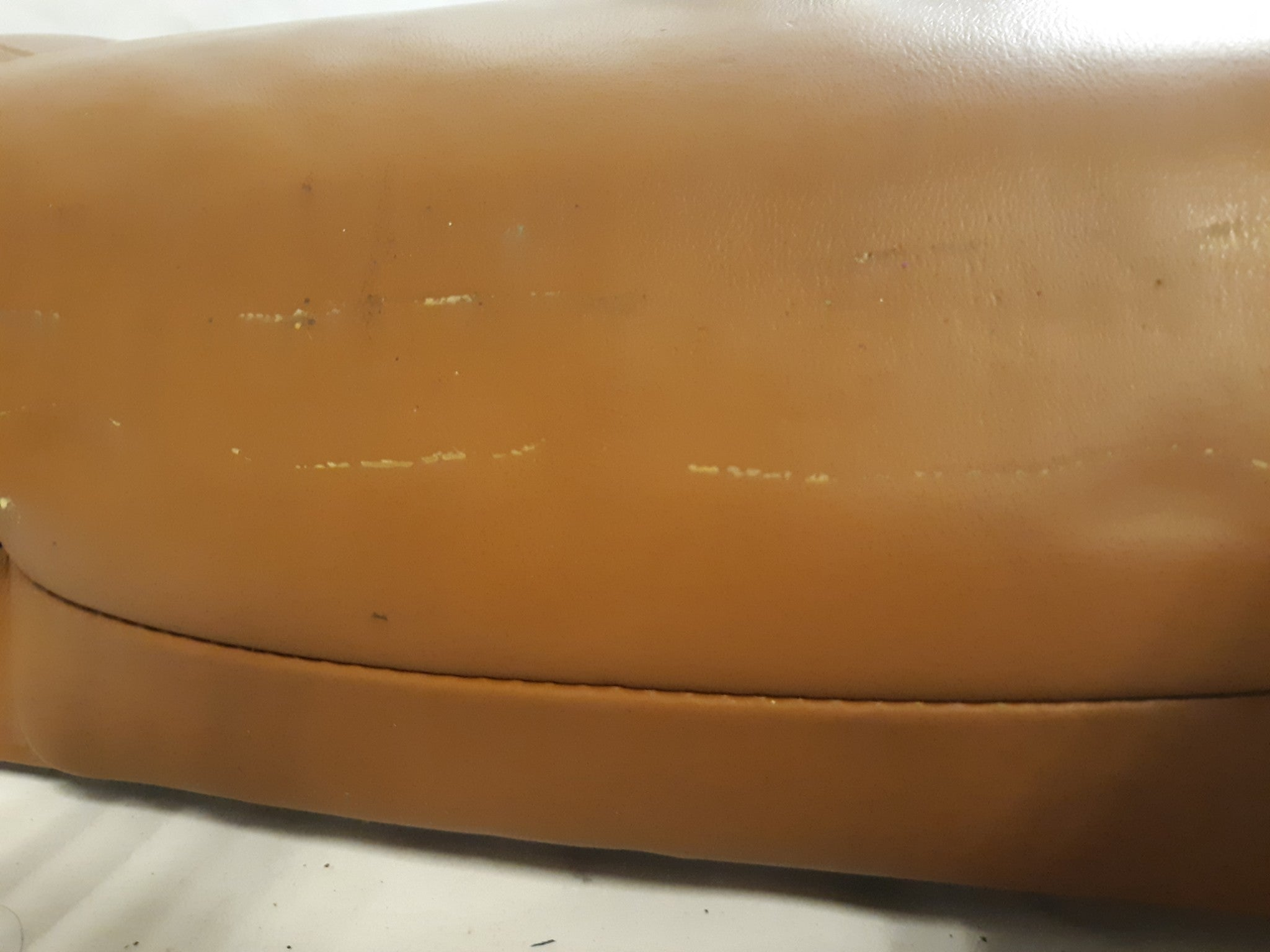 VOLKSWAGEN VW TOUAREG LEFT DRIVER REAR UPPER SEAT CUSHION TAN 2004 2005 2007 OEM