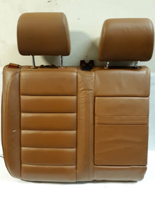 VOLKSWAGEN  VW TOUAREG RIGHT PASSENGER REAR UPPER SEAT TAN LEATHER 2004 2007 OEM