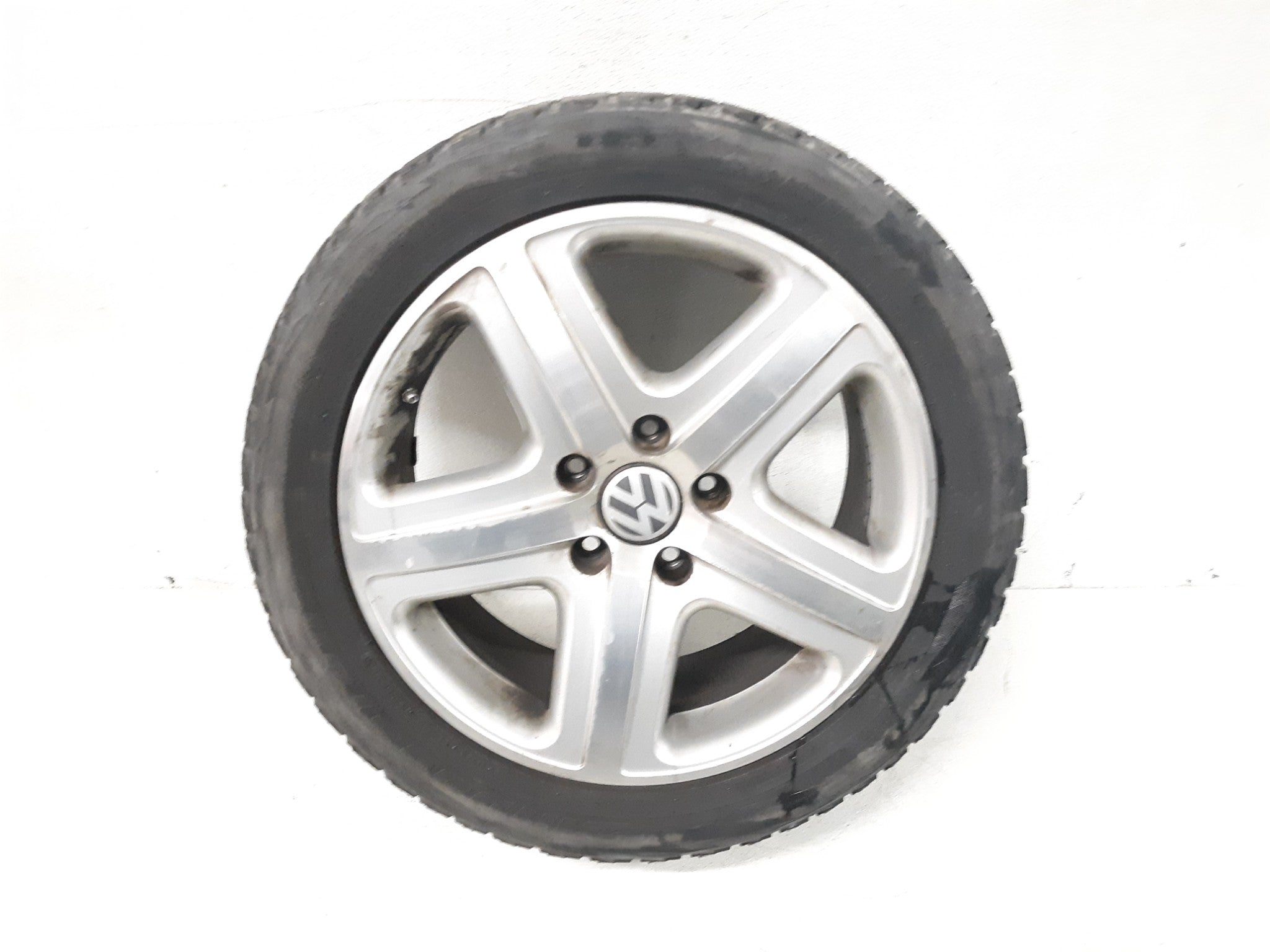 "2004-2010 WV TOUAREG V8 /19""RIM WHEEL & TIRE 275/45/R19 OEM 5.2 /32nd 7L6601025"