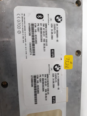 04 - 05 BMW 645Ci E64 Convertible Bluetooth Module Telematics Control Unit OEM