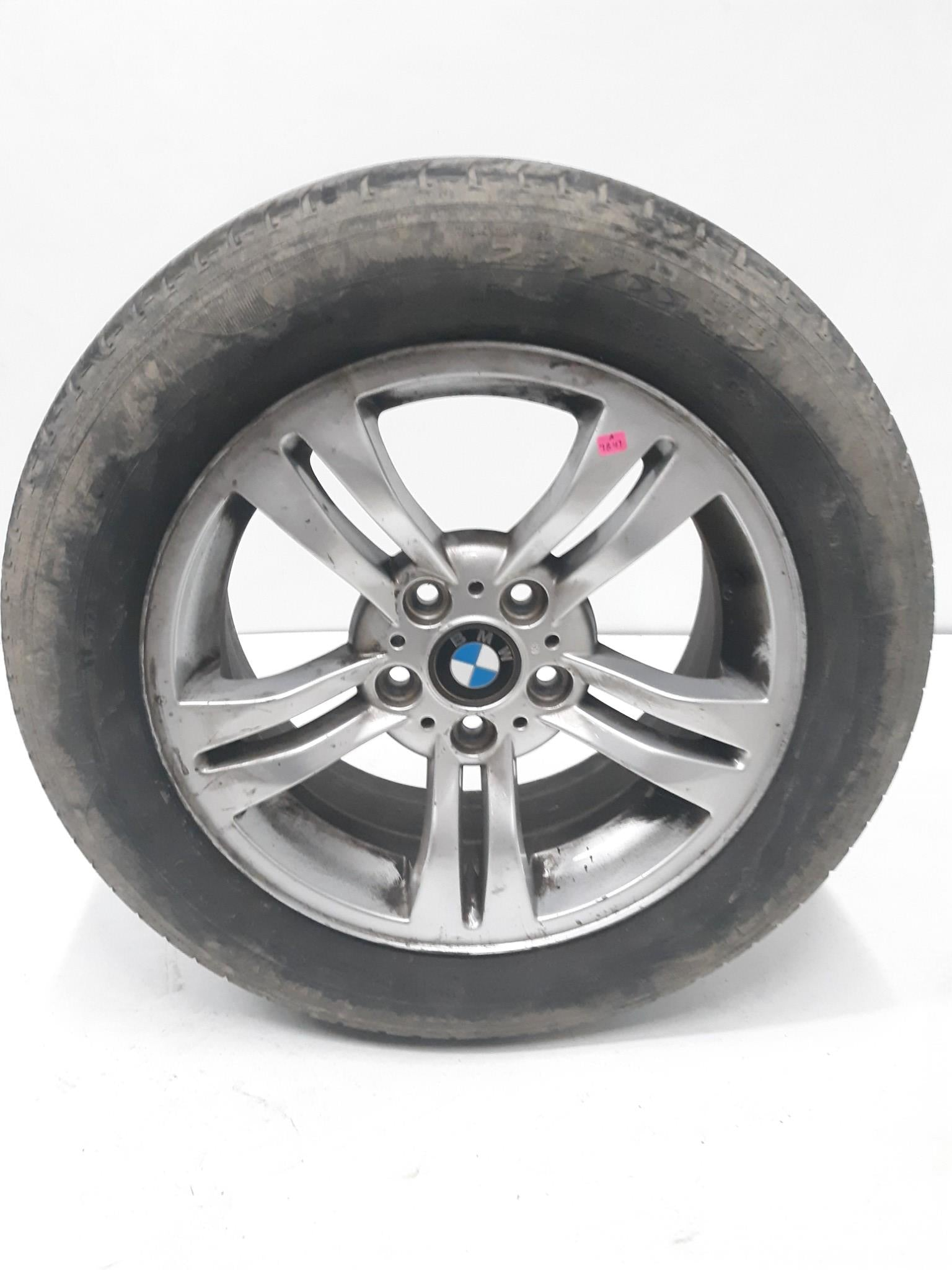 "2004 - 2010 BMW X3 Alloy 17"" 10 Spoke 17x8 RIM WHEEL & TIRE 3401200 OEM 6.1/32nd"