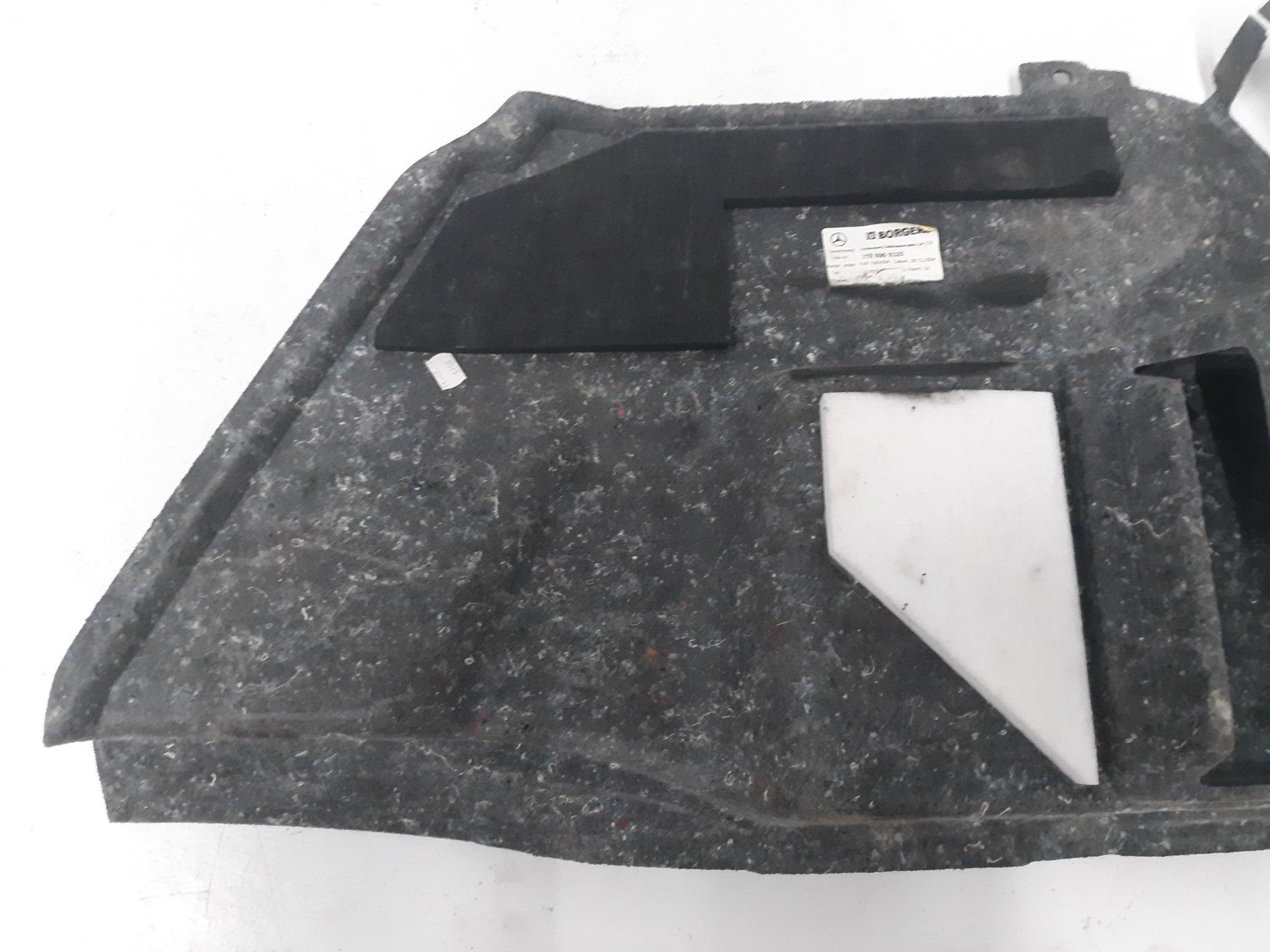 MERCEDES BENZ OEM W219 CLS500 REAR TRUNK LEFT DRIVER SIDE LINER PANEL TRIM COVER