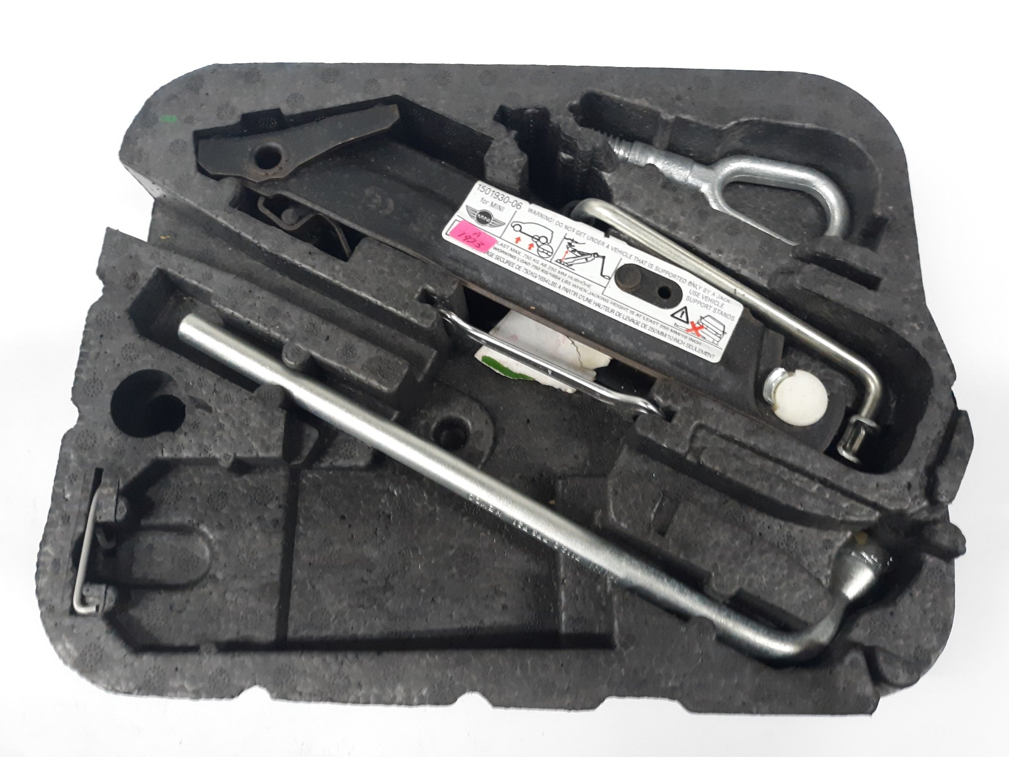 2002 -2015 Mini Cooper R50 R59 Toolkit Tool Set Lifting Jack Spanner 1501930