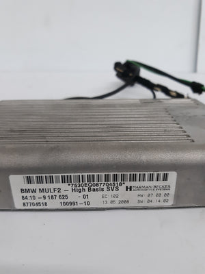 07-11 BMW E60 E63 E64 E93 E92 ULF Module USB Audio Interface Bluetooth Computer - Click Receive Auto Parts