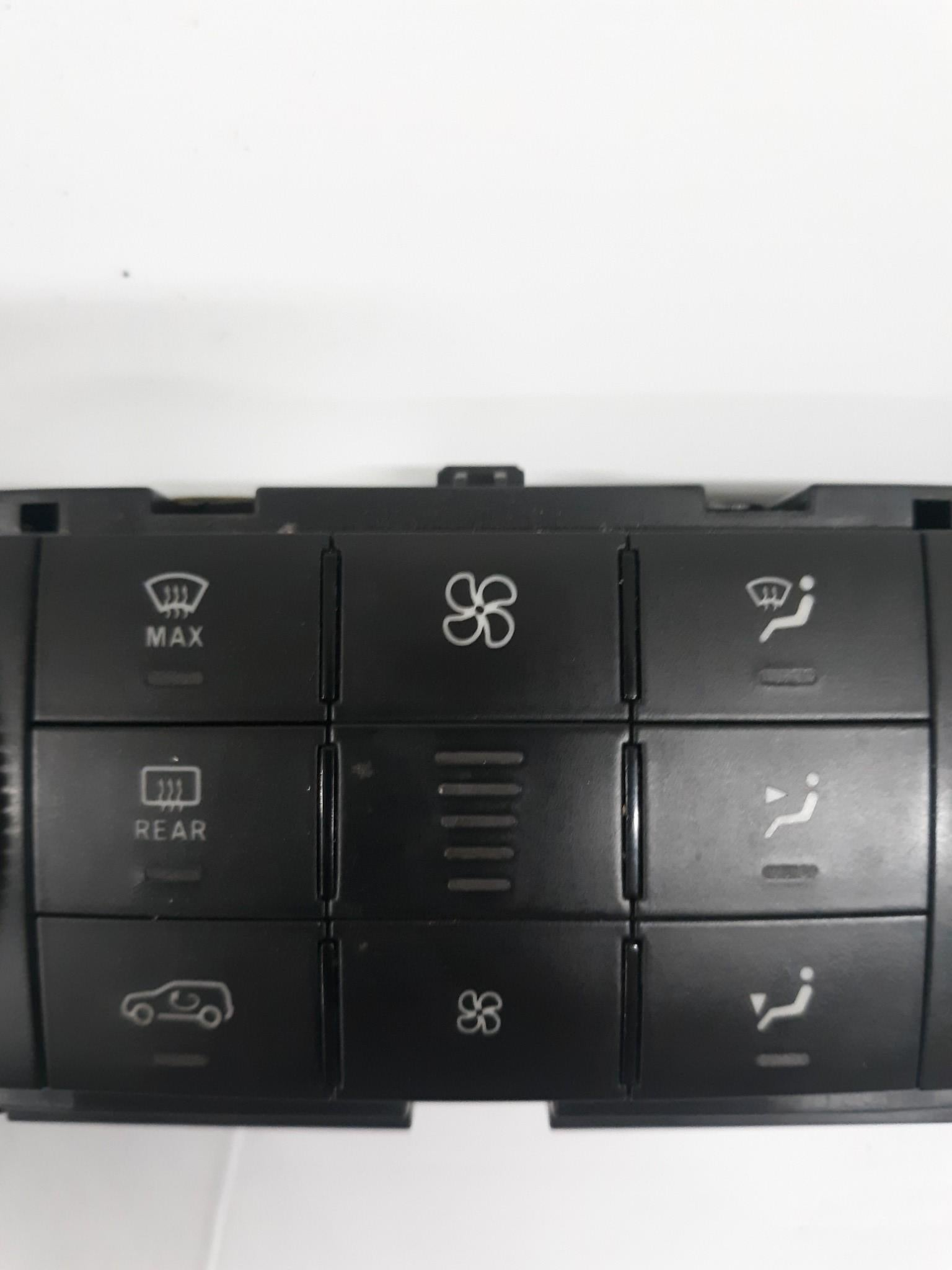 06-12 Mercedes X164 GL450 ML550 Front A/C AC Heater Climate Control Switch OEM - Click Receive Auto Parts