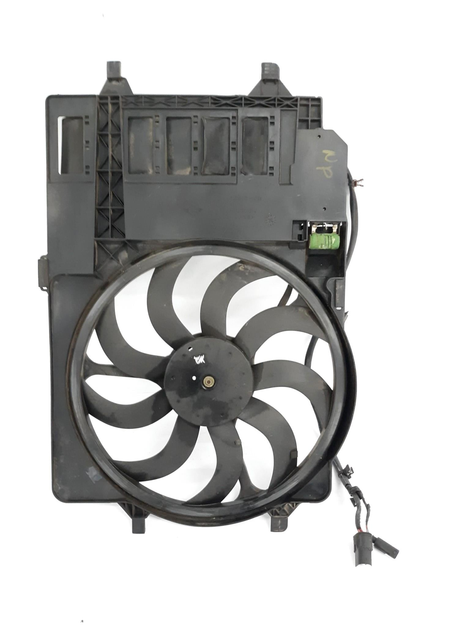 2002-2006 Mini Cooper  R50 R53 Electric Cooling Fan Motor Houssing 1475577 OEM - Click Receive Auto Parts