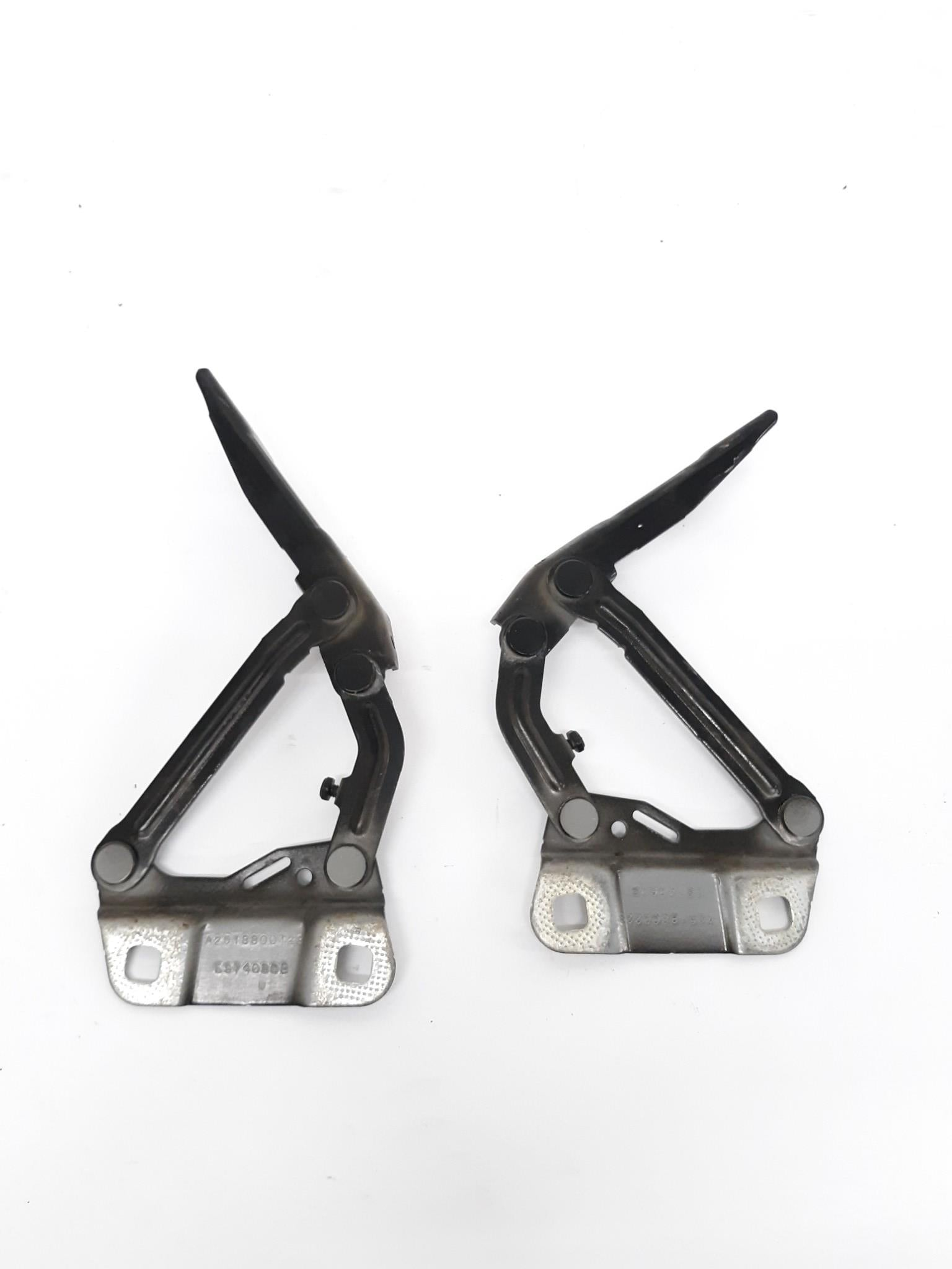 06-11 MERCEDES OEM W164 ML320 ML350 FRONT RIGHT AND LEFT HOOD HINGE BRACKETS - Click Receive Auto Parts