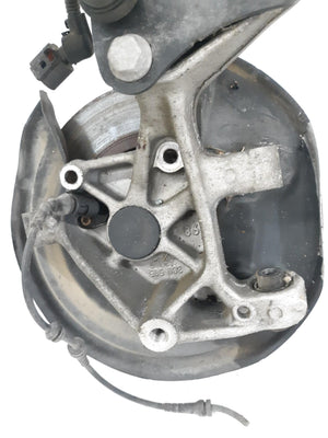 05-14 VOLKSWAGEN JETTA REAR LEFT SUSPENSION KNUCKLE SPINDLE W/ TRAILING ARM OEM - Click Receive Auto Parts